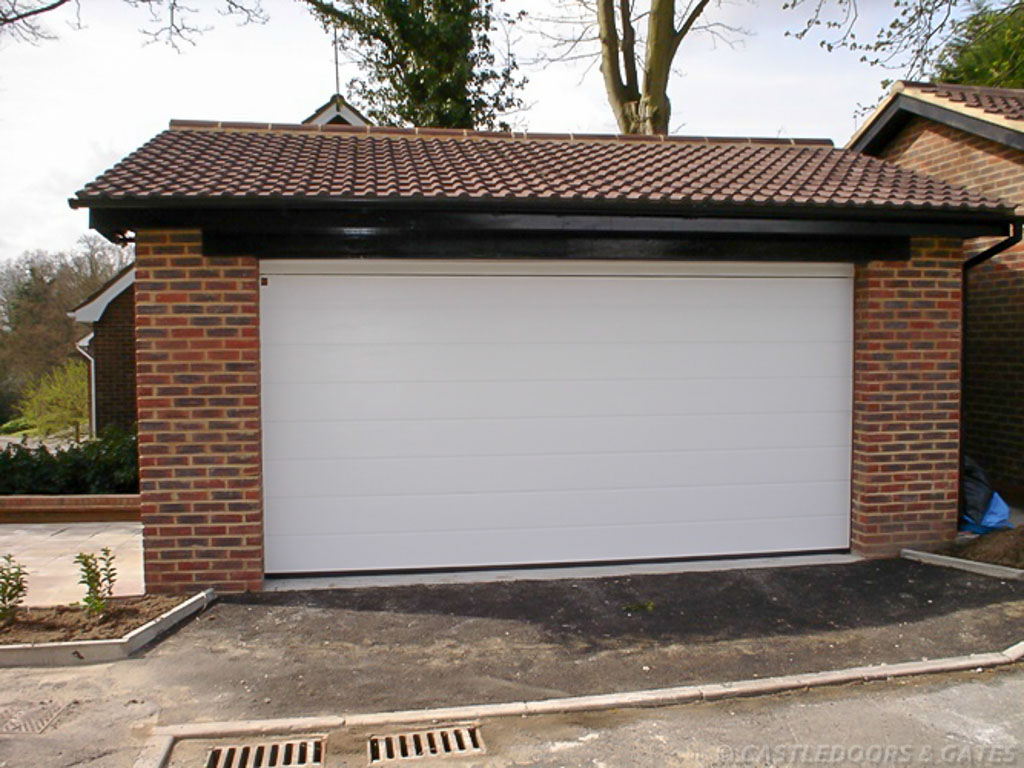 Extra wide garage door castle doors and gates for How wide is a standard garage door
