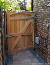 electric side gate