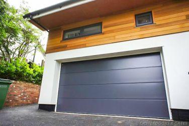 new modern sectional double garage doors